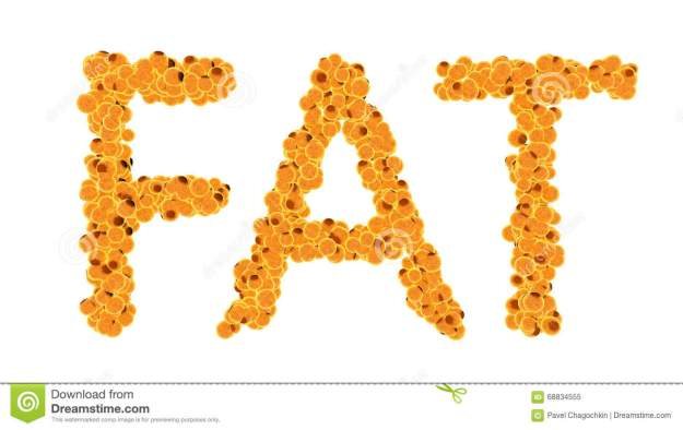 fat-cells-concept-word-fat-isolate-white-background-68834555